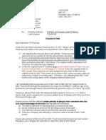 Debt ValidationTransfer Rebuttal Letter