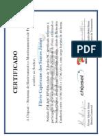 certificado chipsat