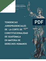 Tendencias jurisprudenciales de la Corte de Constitucionalidad de Guatemala en materia de derechos humanos
