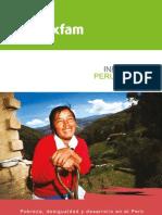 Informe Oxfam Peru 2010-2011