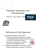 Prejudice Stereotypes and Discrimination