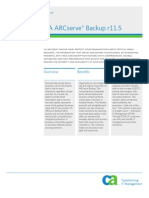 Arcserve Backup Product Brief