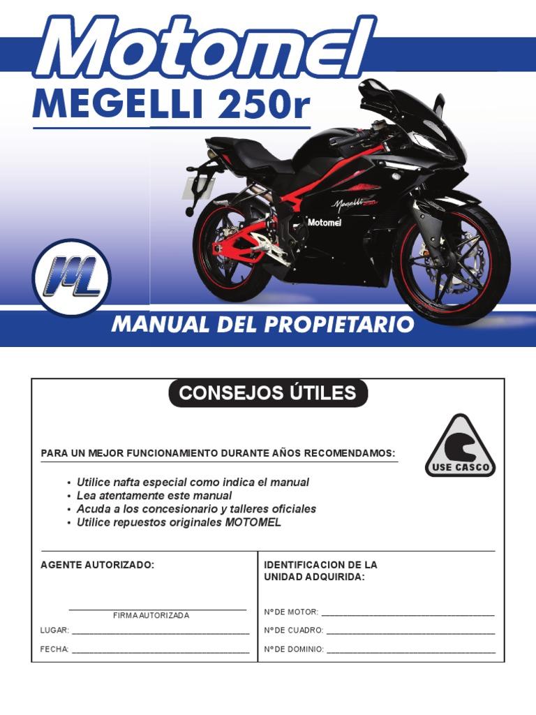 megelli 250r manual del rio rh scribd com Megelli Malaysia Megelli Lights