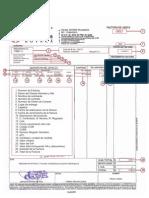 Explicación de la Factura de DDB