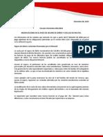 Cir 001 2010 Comunicado Modificacion Pago Seguro y Multas 061210