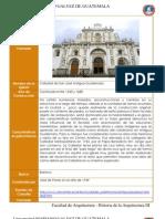 Iglesias y Conventos de Antigua