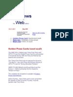 May 2000 Spot News