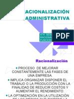 SESION 4 RACIONALIZACIÓN ADMINISTRATIVA