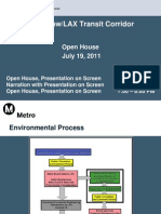 LAX Transit Project Update Open House - July 19, 2011
