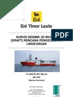 Bicuda 2D Seismic Survey EMP Rev 0 Indonesian