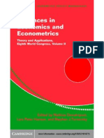 Advances on Economics and Eco No Metrics 2