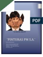 3. CASO ¨PINTURAS PM S.A.