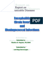 Encephalitis and Meningococcal Infections