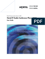 Nortel IP2022 UserGuide