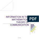 6 Information in the Mathematical Theory of Communication