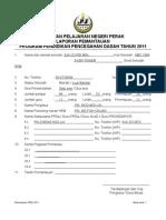 Borang Laporan Pemantauan PPDa 2011