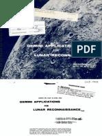 Gemini Applications for Lunar Reconnaissance