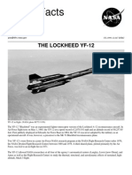 NASA Facts the Lockheed YF-12 1999