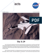 Nasa Facts the X-29 1998