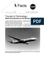 NASA Facts Triumph of Technology NASA Contributions to the Boeing 777