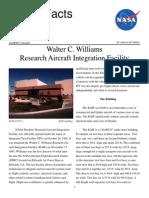 NASA Facts Walter C. Williams Research Aircraft Integration Facility