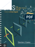 Spss Analysis Without Anguish Using Spss v12