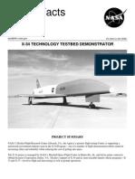 NASA Facts X-34 Technology Testbet Demonstrator