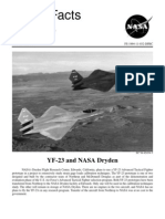 NASA Facts YF-23 and NASA Dryden