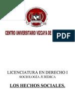 Hechos y Acciones Sociales