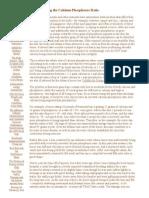 Understanding the Calcium-Phosphorus Ratio