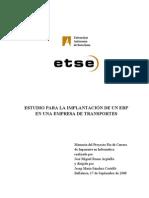 Estudio Para La Implantacion de Un Erp en Empresa de Transporte