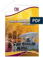 Master's Programme at UTM FKSG