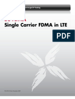 SC-FDMA in LTE
