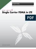 SC-FDMA in LTE