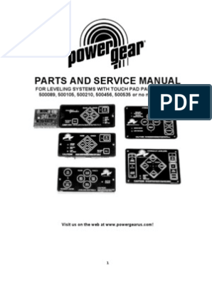 Power Gear Leveling Jacks Wiring Diagram. . Wiring Diagram on