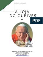 A Loja do Ourives - Book do Patrocinador