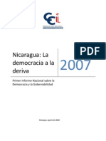 Nicaragua_la Democracia a La Deriva