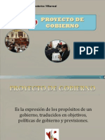 proyecto de gobierno