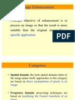 Enhancement in Spatial Domain