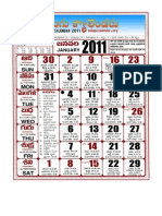 Telugu Calendar 2011 12 Months Web