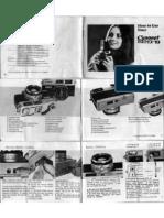 Canonet GIII QL17 Manual