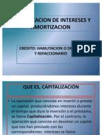 UND II CAPITALIZACIÓN DE INTERESES