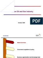 Indian Oil and Gas Industry