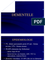 Dementa - Curs de Psihiatrie