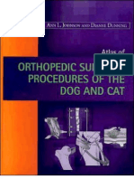 Atlas of Orthopedic Surgical Procedures of the Dog and Cat