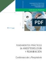 Fundamentos prácticos en Anestesiología y Reanimación - Cardiovascular y Respiratorio