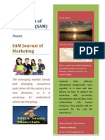 SAM journal of Marketing