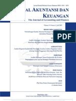 Jurnal Akuntansi Dan Keuangan Vol 14 No 2