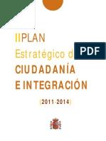 Borrador Plan Estratégico de Ciudadanía e Integración 2011-2014