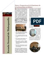 Retos y Perspectivas de La Lectoescritura Mgp